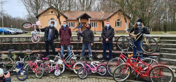 Radost prvog bicikla