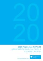 SOS financijsko izvješće 2020. ENG